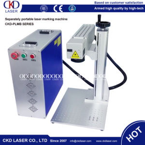 Portable Fiber Laser Engraving Machine for Wholesale pictures & photos