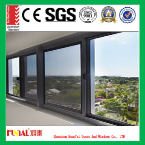 6mm Double Tempered Glass Aluminum Window for Sale