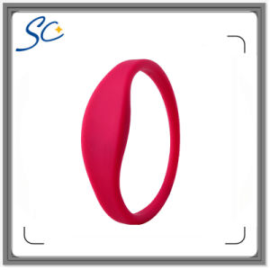 Silicone Band RFID Wristbands for Swimming Pool or SPA or Theme Park Events