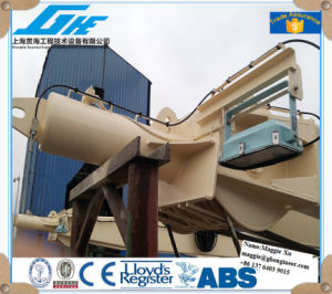 30t30mhydraulic Electric Marine Deck Crane pictures & photos