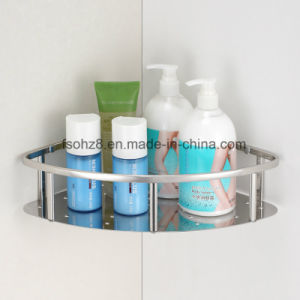 Hot Selling Hotel Bathroom Stainless Steel Triangle Hanging Basket (6602) pictures & photos