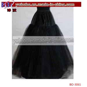 Layers Tulle Hoopless Wedding Dress Underskirt Petticoat (BO-3061) pictures & photos