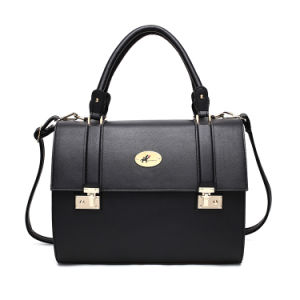 Cool Luxury Black PU Leather Dog Bags Pet Carriers pictures & photos
