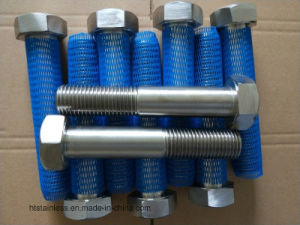 Hastelloy G30 Asme B 18.2.1 Half Thread Hex Bolt pictures & photos