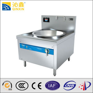 China Best Manufacturer Large Restaurant Stainless Steel Induction Deep Wok Stove pictures & photos