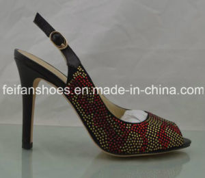 Classical Women High Heels Casual Shoes Customized (FFHH112303) pictures & photos