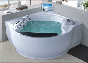 Massage Bathtub SPA with Waterproof TV for Villa (AT-9051TV) pictures & photos