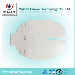 Transparent Medical Adhesive Dressing IV Cannula Dressing with Non-Woven Strip pictures & photos