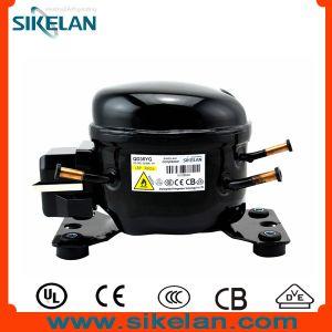 AC Refrigeration Parts R600A Hermetice Mini Refrigerator Compressor Qd35yg 220V pictures & photos