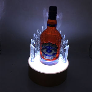 Wine Retail Store LED Lighting Counter Top Display Stand pictures & photos