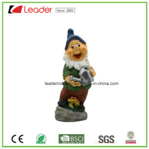 Lovely Polyresin Garden Dwarf Statue with a Pliers for Lawn Decoration pictures & photos