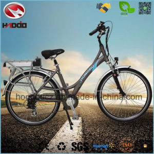 250W Lithium Battery Ebike Electric City Road Bicycle for Woman pictures & photos
