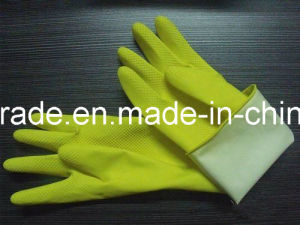 Low Price Work Rubber Glove for Housework pictures & photos