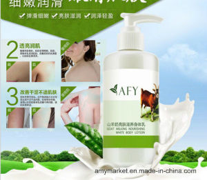 Afy Goat Milk Nourishing Body Lotion Rose Honey Moisturizing Whitening Body Cream 250ml pictures & photos