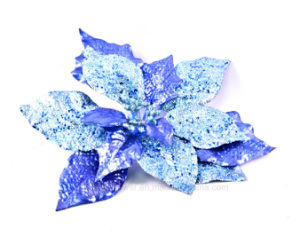 Clourful Glitter Artificial Flowers for Christmas Decoration pictures & photos