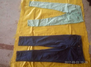 Factories of Recycling Ladies Cotton Pants Sell Used Clothing in United States pictures & photos