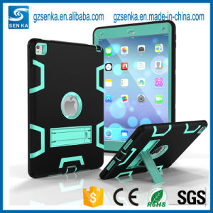 PC Silicone with Stand Shockproof Case for iPad 4 pictures & photos