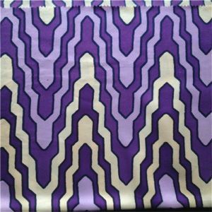 Printed Silk Twill in Arrow Pattern pictures & photos