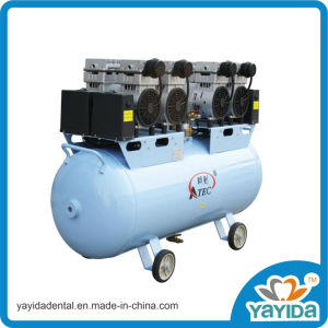 Oil Free and Silent Air Compressor for 8 Dental Chairs pictures & photos