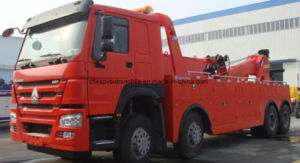 30t Road Rescue Truck Sinotruk Heavy Duty Wreck Truck pictures & photos