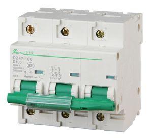 Miniature Circuit Breaker 3p Dz47-100h pictures & photos
