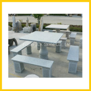 Stone Garden Furniture Granite Table & Bench Sets pictures & photos