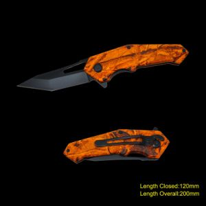 Folding Knife with Camouflage (#3698) pictures & photos