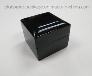 Handmade Wooden Box High-End Double Use Gloss Finish Ring Box pictures & photos
