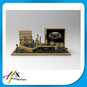 Handmade Custom Pop Wood Acrylic Watch Display for Advertising pictures & photos