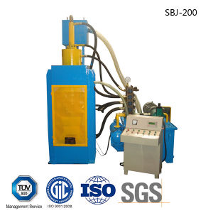 Hydraulic Metal Briquetting Machines-- (SBJ-200B) pictures & photos