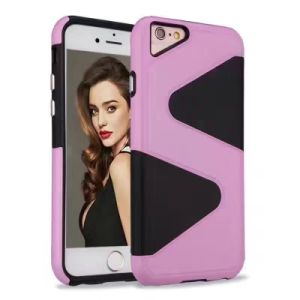 2017 New Fashion Wholesale Hard PC+TPU Cover Case pictures & photos
