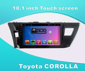 Android System Car GPS DVD for Toyota Corolla 10.1 Inch Touch Screen with Bluetooth/TV/MP4 pictures & photos