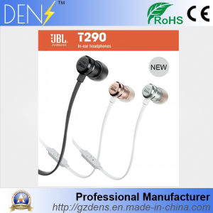 New Earbus Headset Jbl T290 Stereo Earphone pictures & photos
