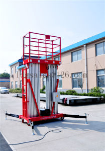 8meters Aluminium Alloy Mast Aerial Work Lift Elevators (GTWY8-200S) pictures & photos