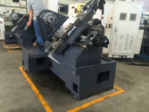 Lathe Machine, CNC Lathe, Lathe Tool Turret, CNC Lathe with 4 Position Turret (E45) pictures & photos