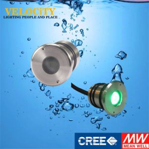 Ce Approved Stainless Steel 316 RGB IP68 Surface Mounted LED Pool Light pictures & photos