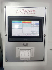 Single column PLC Touch Screen Electronictensile Strength Test Machine pictures & photos