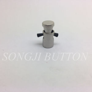 European Standard Fashion Painted and Electroplated Brass Alloy Stopper Button pictures & photos