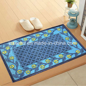 Durable Polyester Loop Pile Surface Latex Backing Door Mat pictures & photos