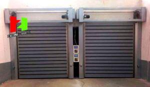 Porta Sanfonada Roller Shutter Door Aluminium Profile (Hz-FC02380) pictures & photos
