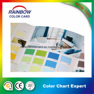 Promotional Building Material Wall Paint Color Card Book for Advertisement pictures & photos