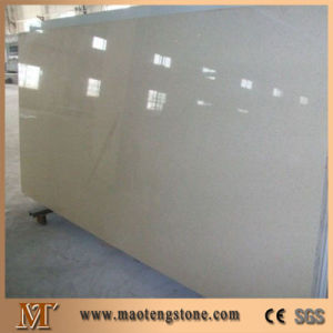 Pure White Artificial Quartz Standard Big Slabs Decorative Stones Wall pictures & photos