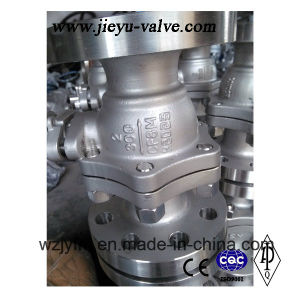 API Cast Ss CF8 Industrial Ball Valve with Flange Ends (Q41F-150LBP-3) pictures & photos