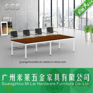 Favorable Price Straight Design Meeting Table Office Desk with Metal Leg pictures & photos