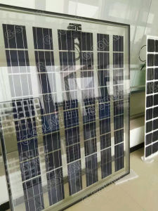 18V Double Glass Cover Solar Panel (BIPV) 150W-160W pictures & photos
