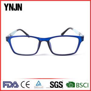 Ynjn Blue Soft Tr90 Custom Made Eyeglasses pictures & photos