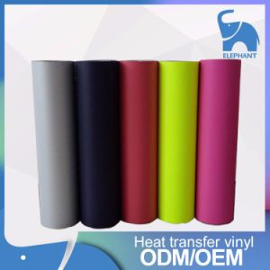 Competitive Price Wholesale T-Shirt PU Heat Transfer Vinyl Roll pictures & photos