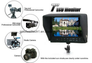 "7"" Camera HD Peaking Focus HDMI Monitor with 1024X 600 pictures & photos"