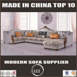 High Quality Camel Back Fabric Sofa pictures & photos