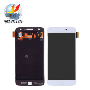 Touch Panel Screen LCD Assembly for Motorola Moto Z Play Droid Xt1635 White pictures & photos